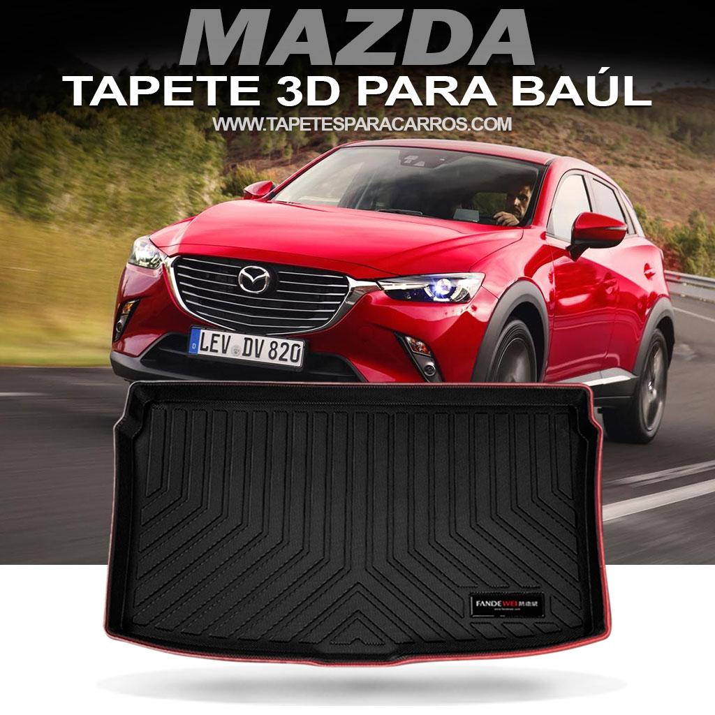 Tapete termoformados para baul de carros marca mazda cx5 cx7 cx3